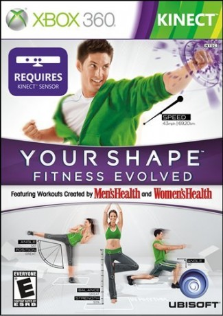 Your Shape Fitness Evolved 2012 for Xbox 360 Kinect
