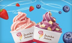 $5 for 2 Jamba Juice Medium Whirl'ns Frozen Yogurts with Two Toppings Each