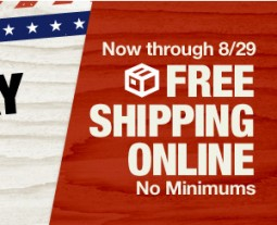 Free Shipping Online at HomeDepot