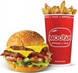 Free MOOYAH Burgers & Fries